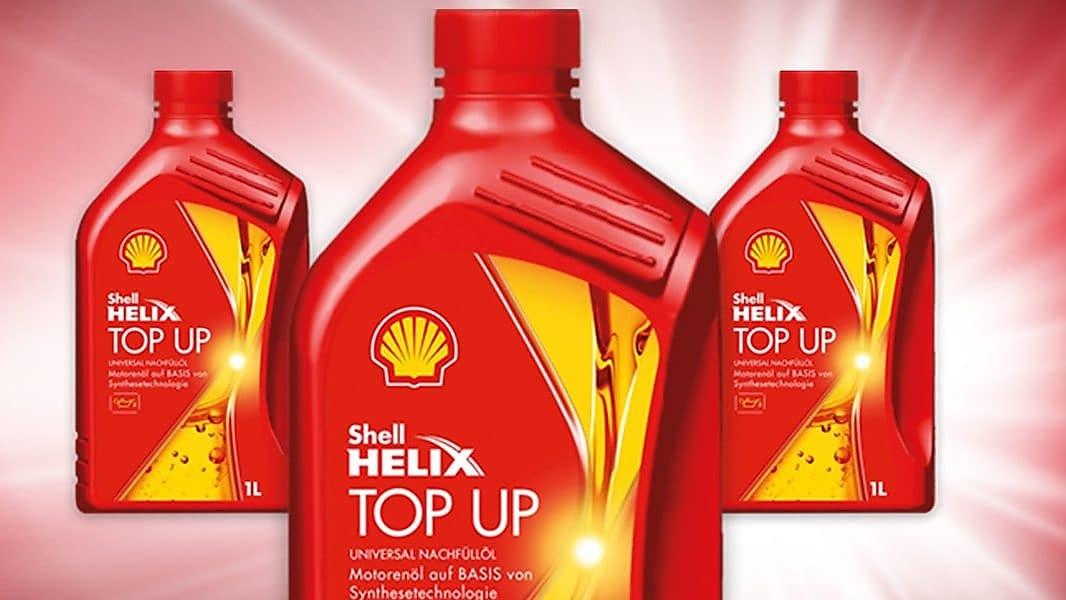 Shell Helix Top Up - univerzální olej na dolívání