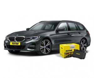 Nové brzdové destičky Textar pro BMW 3 Touring