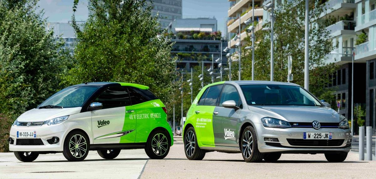 Komplexní 48V systémy pro hybridní a elektrická vozidla od firem Valeo a Dana