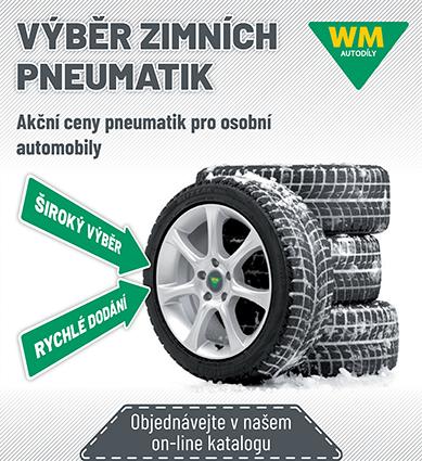 WM Autodíly: Akční ceny nejžádanějších pneumatik