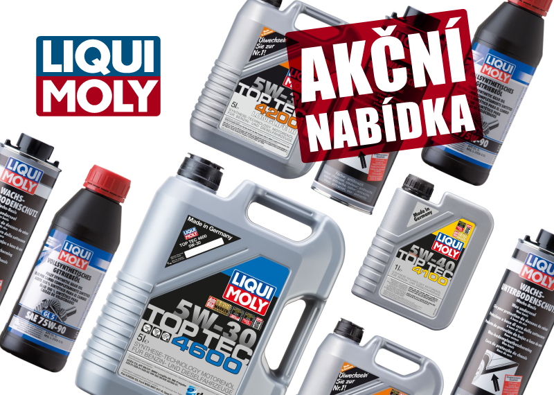 Akční nabídka na produkty Liqui Moly u AD Partner