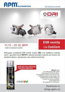 APM Automotive: Praktický sprej k EGR ventilům DRI