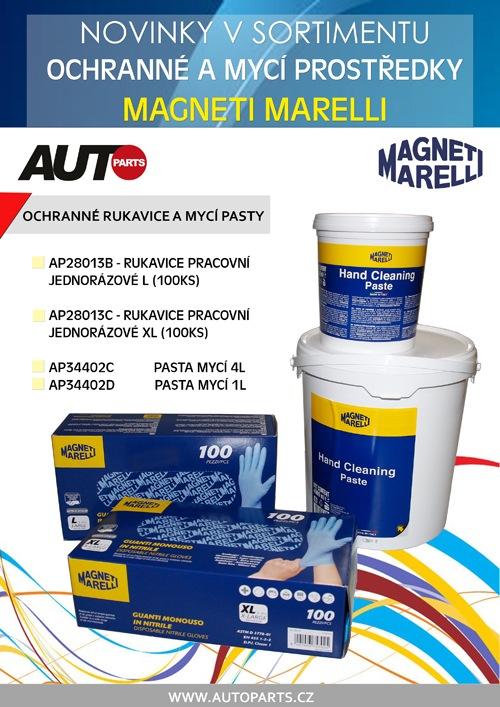 Ochranné a mycí prostředky Magneti Marelli u AUTOPARTS