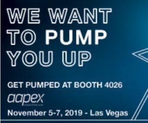 Dayco zve na svůj stánek na AAPEX 2019