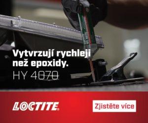 Neomezené možnosti pro konstrukci, výrobu, průmyslovou údržbu a opravy s lepidly LOCTITE HY 4070 a LOCTITE HY 4090
