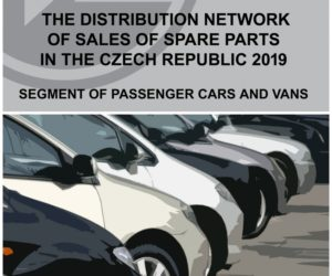 REPORT: The distribution network of sales of spare parts in the Czech Republic 2019 – segment of passenger and vans