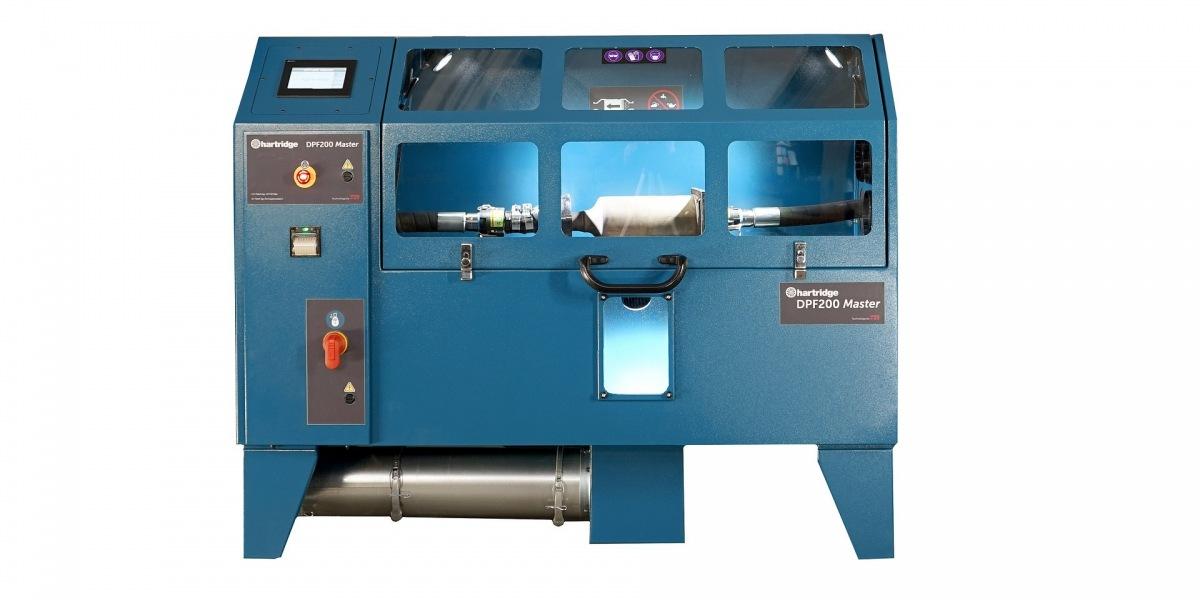Nový čisticí přístroj pro filtry DPF