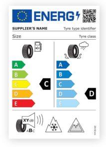 Nové klasifikační štítky pneumatik