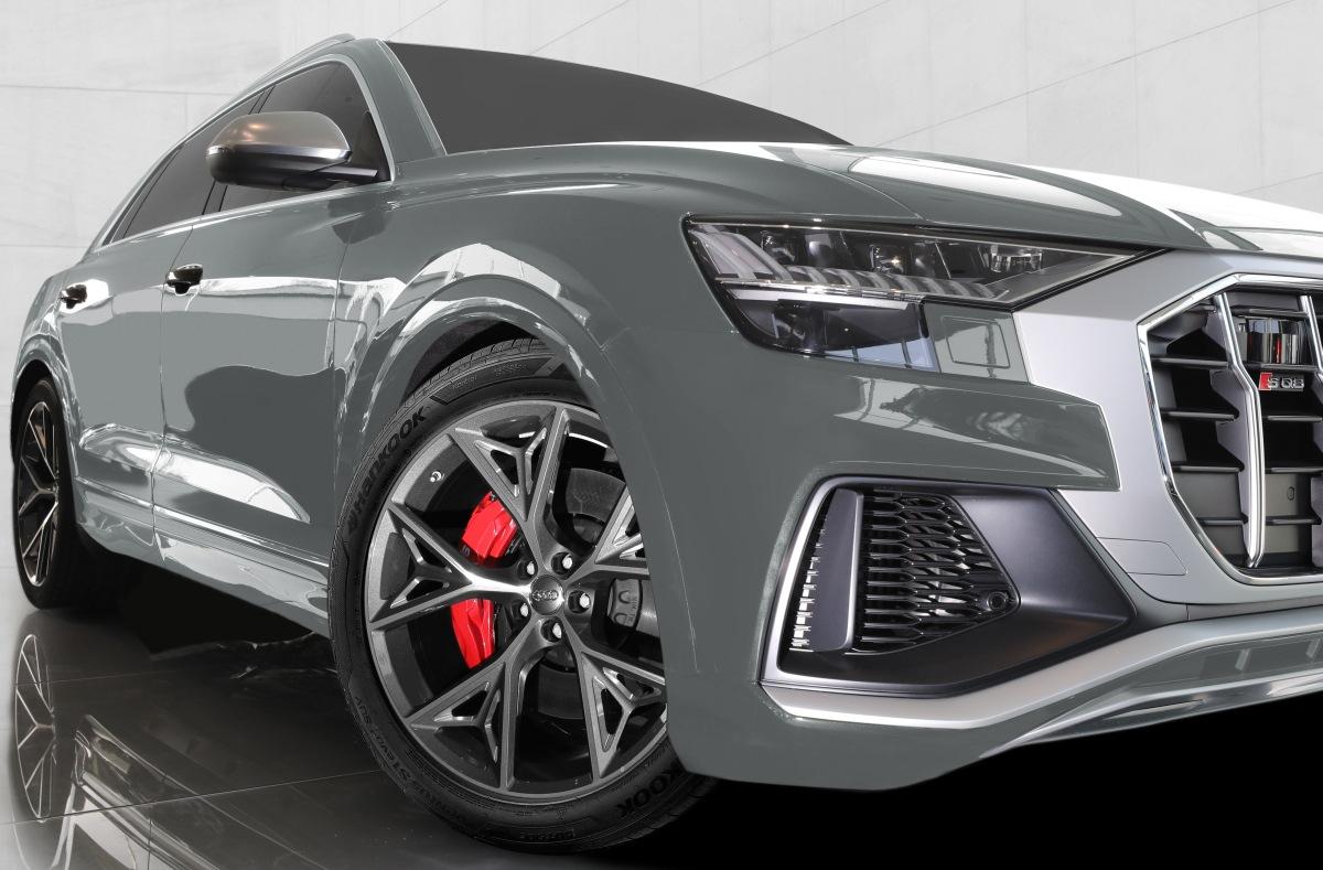 Nové Audi SQ8 TDI také s pneu Hankook