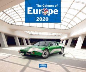 Kalendář Standox 2020: Barvy Evropy