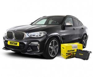 Brzdové destičky Textar pro nové BMW X4