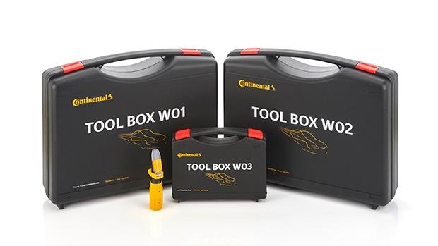 Nové toolboxy Continental