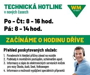 Technická HOTLINE od WM Autodíly