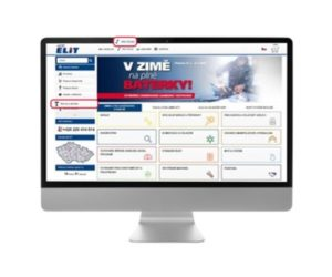 ELIT: Možnost online objednávek servisu a oprav garážového vybavení