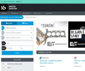 K MOTORSHOP představuje nové webové stránky