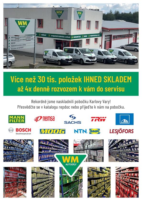 WM Autodíly Karlovy Vary