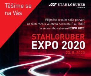 STAHLGRUBER EXPO 2020 – veletrh dodavatelů náhradních dílů, servisního a garážového vybavení se vrací!