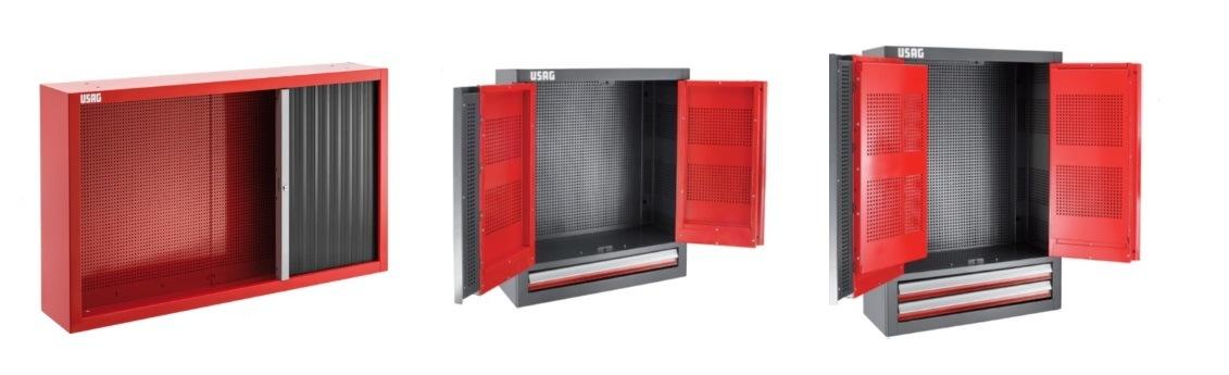 Nové skříňky USAG u TECHNOLOGY-GARAGE