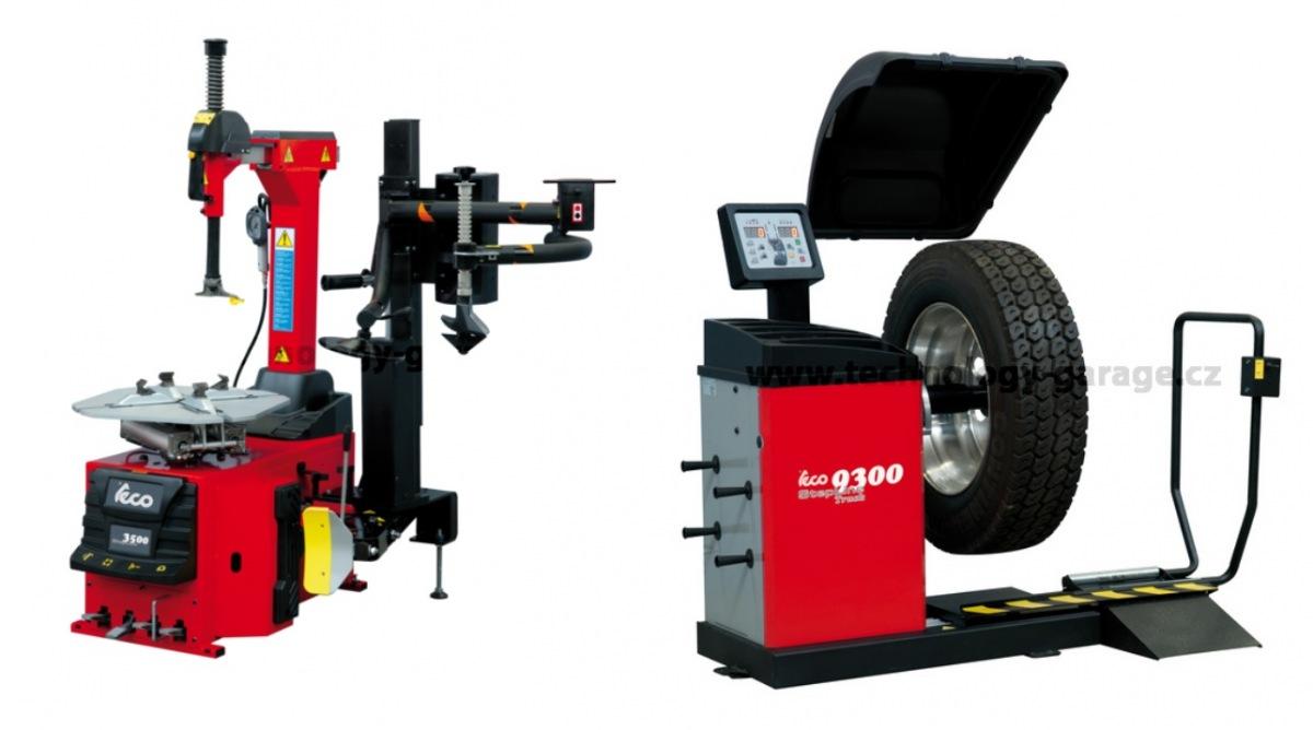 Nová řada TECO zouvačky a vyvažovačky Stepline u Technology Garage