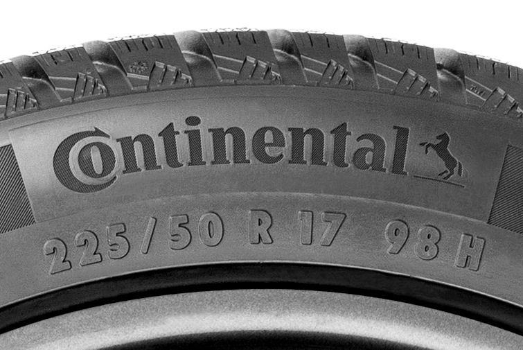 Nápisy na pneumatikách