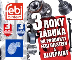 AD Partner: 3letá záruku na produkty FEBI a Blue Print