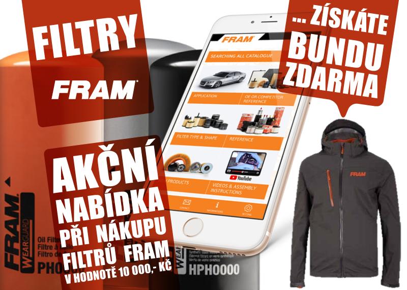 AD Partner: Dárek k nákupu filtrů Fram