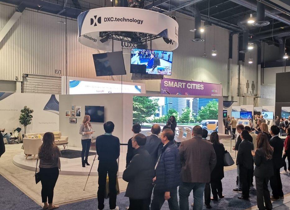 DXC Technology na veletrhu CES 2020