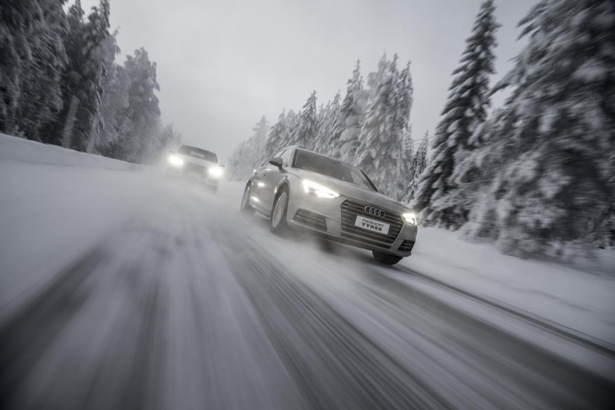 Nokian Tyres v zimě