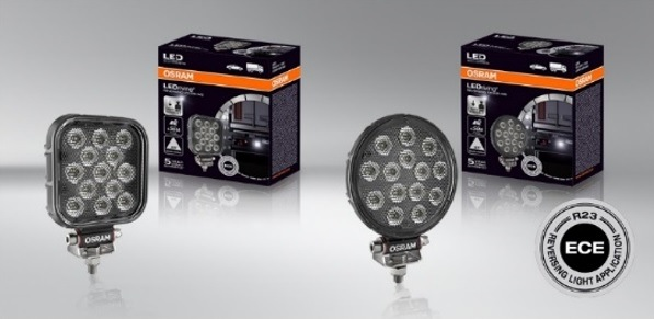 LEDriving Driving Lights od Osramu u Stahlgruberu