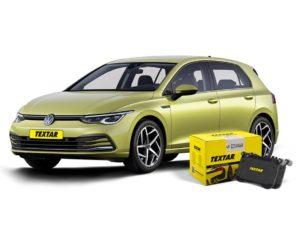 Brzdové destičky Textar pro vozy VW Golf VIII