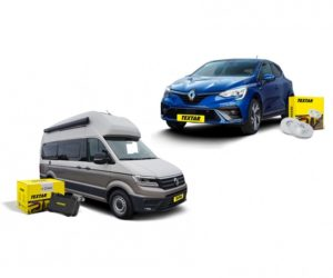 Textar novinky: brzdové destičky pro VW Grand California a brzdové kotouče pro Renault Clio
