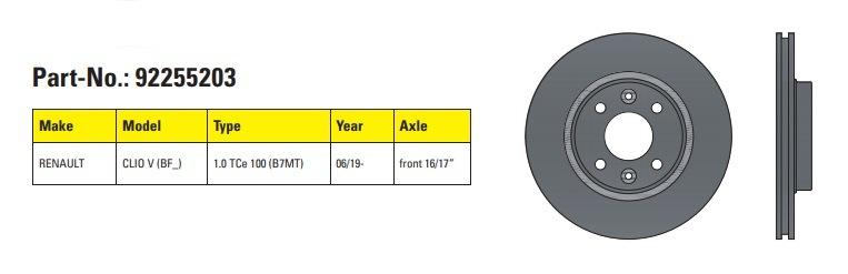 Komponenty Textar pro Renault Clio