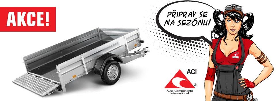Akce na díly přívěsných vozíků u ACI
