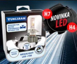 Tungsram LED žárovky nově u Elán car