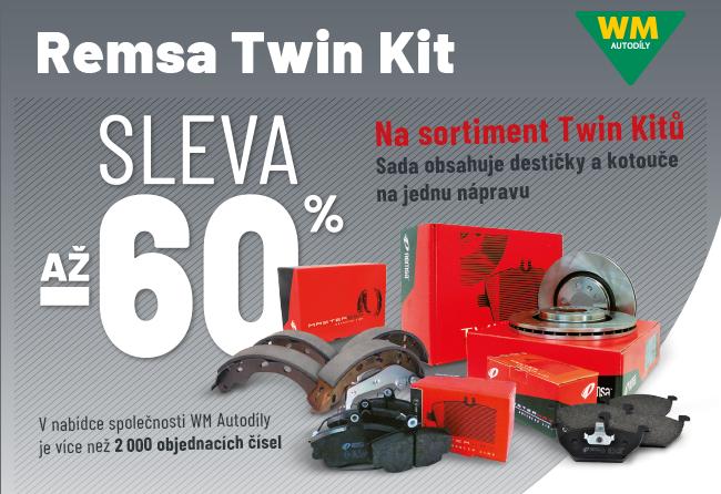 WM Autodíly: Sleva až 60 % na sortiment Twin Kitů Remsa