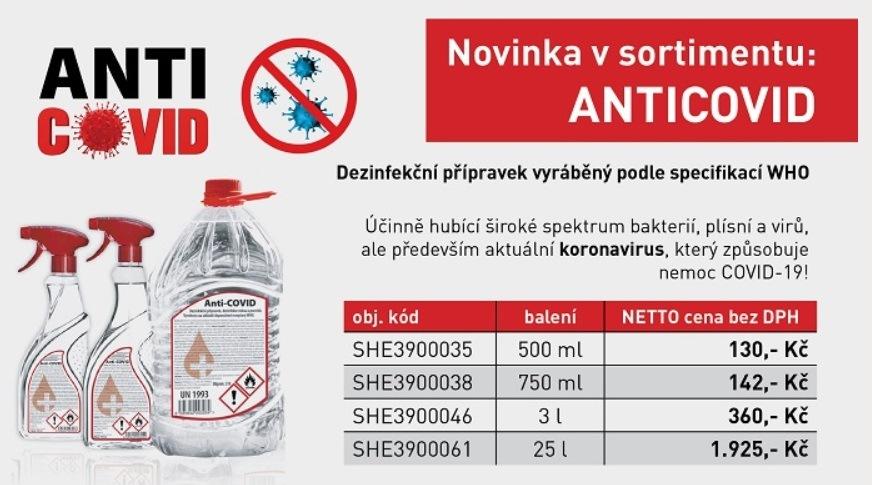 APM Automotive má v nabídce dezinfekci Anti-Covid