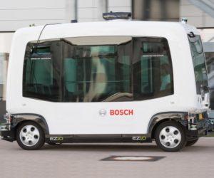 Pokračování jízdy i navzdory chybám: Jak se dostanou autonomní vozidla kyvadlové dopravy Bosch bezpečně z bodu A do bodu B
