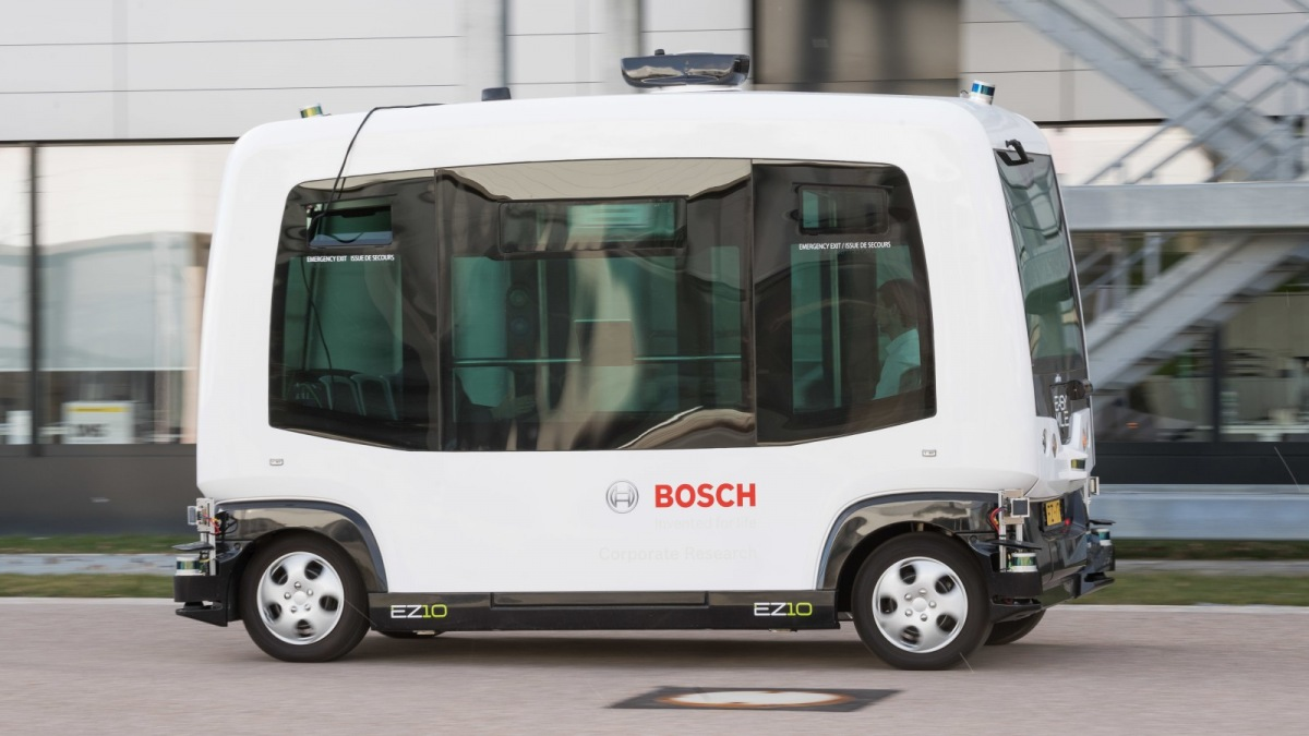 Autonomní vozidlo Bosch