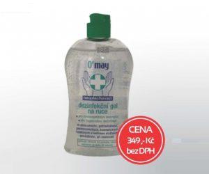 Interaction: Exkluzivně v prodeji dezinfekční gel na ruce – 500 ml