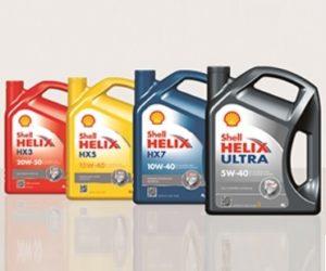 Motorové oleje Shell Helix v nabídce Elán car