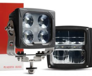 Hlavní a pracovní světlomety Herth+Buss: odolné proti vibracím a zimě