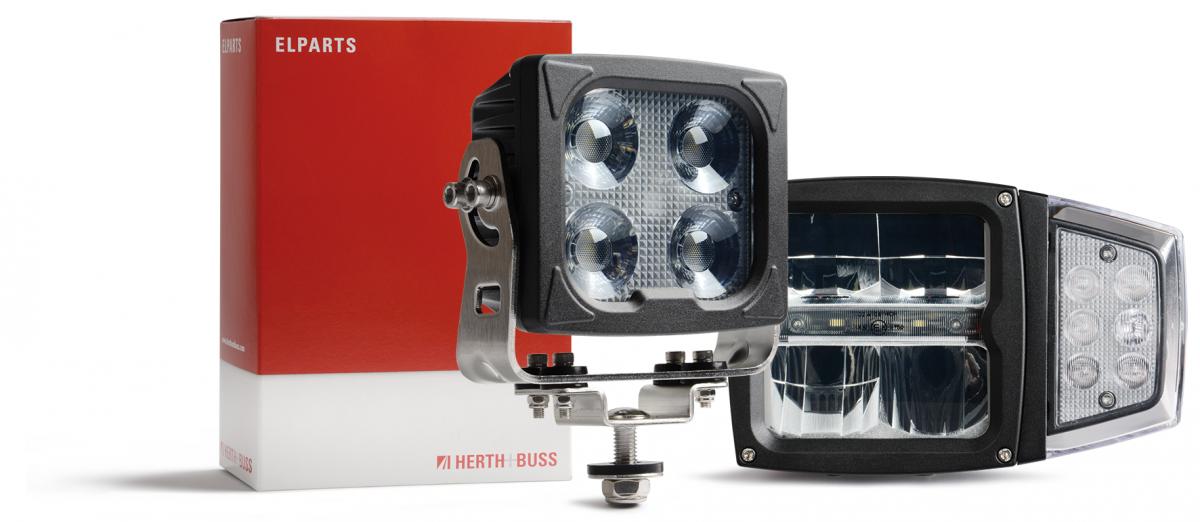 Hlavní a pracovní světlomety Herth+Buss