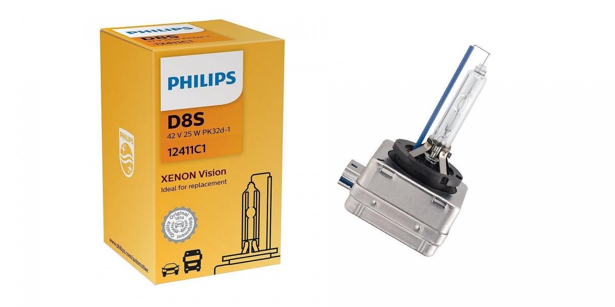 Xenonové výbojky Philips D8S