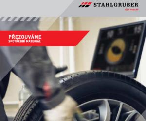 Společnost Stahlgruber vydává aktualizaci katalogu: Přezouváme – spotřební materiál