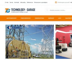 Nový e-shop TECHNOLOGY-GARAGE