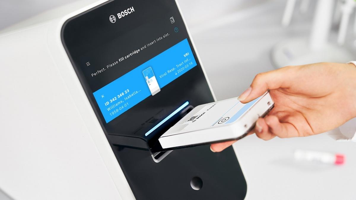 Bosch vyvíjí rychlý test COVID-19