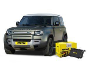 Textar nabízí nově brzdové destičky pro vozy Land Rover Defender