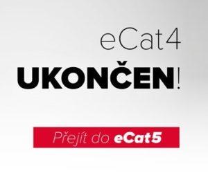 ELIT: Objednávkový portál eCat 4 již nebude aktualizován a servisován