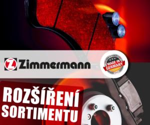 AD Partner: Zimmermann rozšířil sortiment o nové brzdové díly