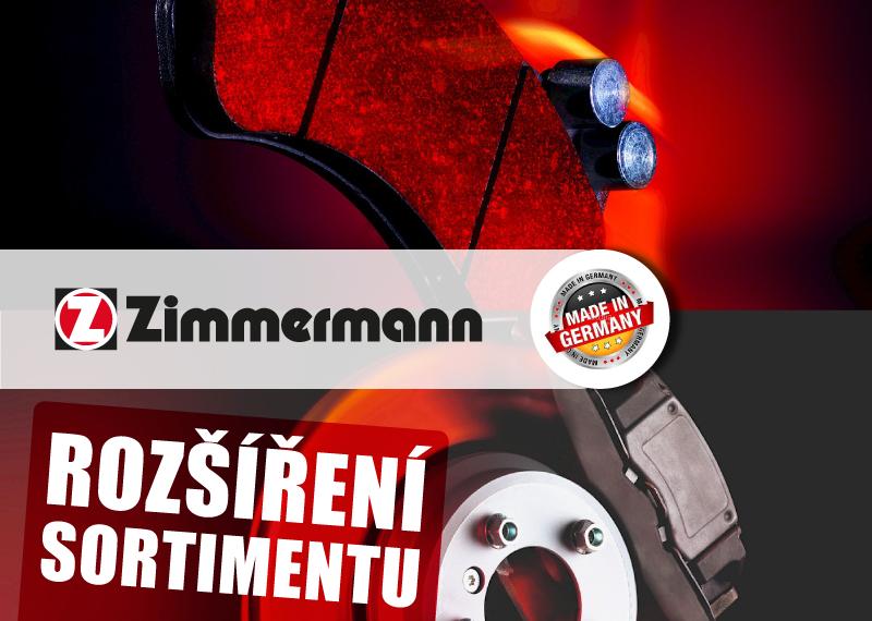 Zimmermann rozšířil sortiment o nové brzdové díly